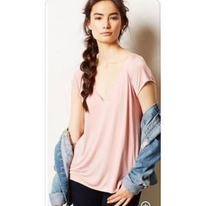Anthropologie   Deletta Shimmerwing Top